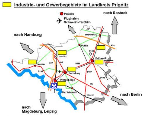 Landkreis Prignitz Tourenplan